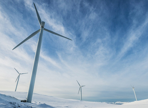 windmills in the Arctic