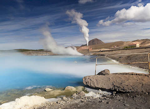 Geothermal Power Station, Iceland Credit: iStock / DieterMeyrl
